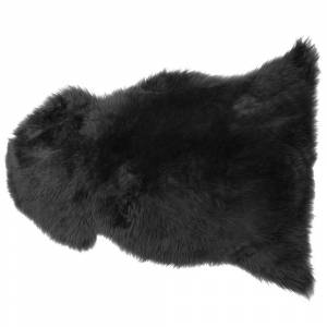 Pele de ovelha preto ULURU