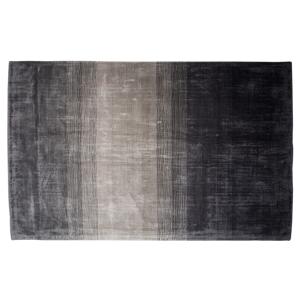 Tapete em viscose 140 x 200 cm cinza e preto ERCIS