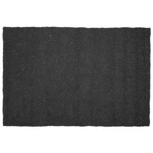 Tapete retangular 160 x 230 cm cinza escuro AMDO