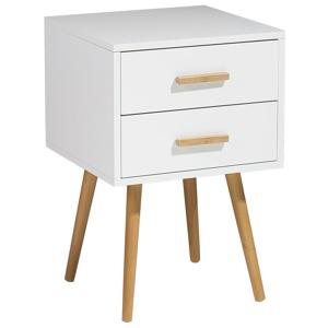 Mesa de cabeceira branca 40 cm ALABAMA