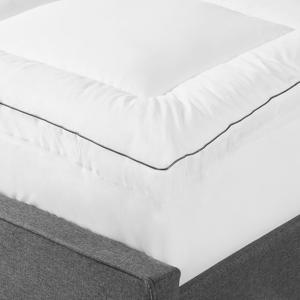 Sobre-colchão com algodão Japara e microfibra 160x200 cm TRIVOR