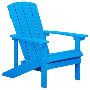 Cadeira de jardim azul ADIRONDACK