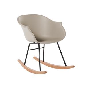 Cadeira de jantar bege - Cadeira de balanço - Refeição - HARMONY
