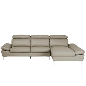 Sofá confortável com chaise longue