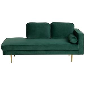 Beliani Sofá chaise-longue confortável e elegante