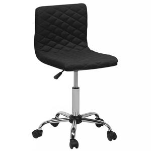 Cadeira de escritório preta em tecido ORLANDO