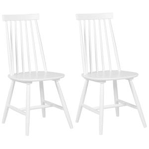 Conjunto de 2 cadeiras brancas BURBANK