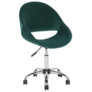 Cadeira de escritório verde SELMA