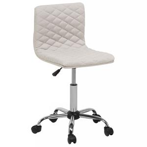 Cadeira de escritório bege em tecido ORLANDO