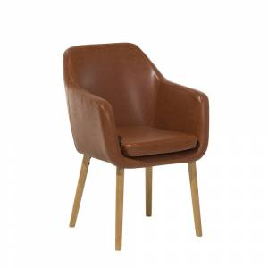 Cadeira marrom dourado - YORKVILLE