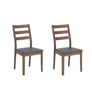 Conjunto de 2 elegantes cadeiras de jantar