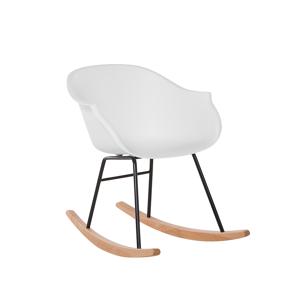 Cadeira de jantar branca - Cadeira de balanço - Refeição - HARMONY