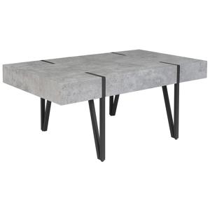 Mesa de centro em cinzento claro 60 x 100 cm ADENA