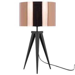 Candeeiro de mesa cobre - 55 cm - STILETTO