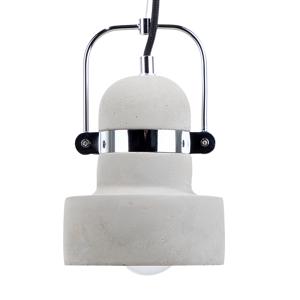 Candeeiro de tecto cinza - Iluminação - Betão e metal - VERDE