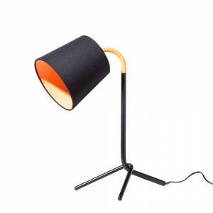 Candeeiro de mesa preto - Iluminação - Aço - MOOKI