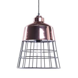 Candeeiro de tecto cobre e preto - Metal - Iluminação - MONTE