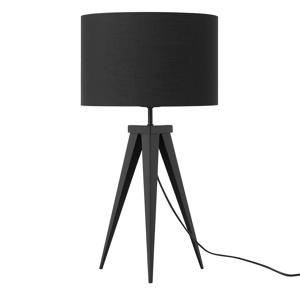 Candeeiro de mesa preto - 55 cm - STILETTO