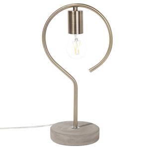 Candeeiro de mesa cor de bronze - JUCAR