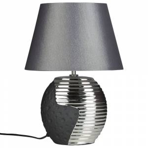 Candeeiro de mesa - Preto e prata - Iluminação - ESLA