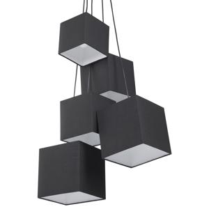 Candeeiro de tecto moderno - Preto - Iluminação - Lustre - MESTA