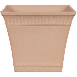 Vaso para plantas 41 x 41 x 36 cm laranja claro PSATHA