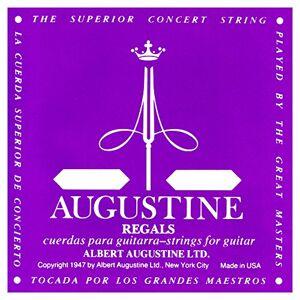 Augustine Cuerdas Para Guitarra Clasica Cuerda Suelta Mi1 Etiqueta Regals