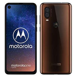 Desconocido Motorola One Vision - Smartphone Android One (4 GB de RAM, 128 GB, Cámara 48 MP Quad Pixel, Pantalla 6.3'' FHD+ CinemaVision, ratio 21:9, Dual SIM), color bronce [Versión española]