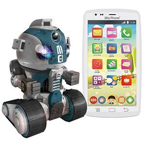 "Lisciani Mio Phone & Robot Special Edition 12,7 cm (5"") 1 GB 8 GB SIM única Blanco 1900 mAh - Smartphone (12,7 cm (5""), 1 GB, 8 GB, 5 MP, Android 6.0, Blanco)"