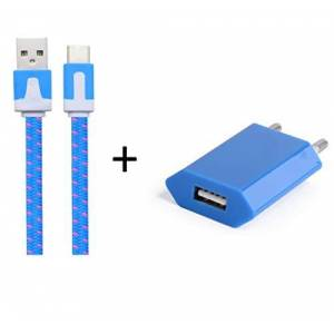 Shot Case Cargador Adaptador USB para Blackberry Q10Smartphone/Tablet Naranja
