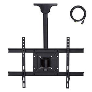 AmazonBasics - Soporte de techo para televisor, 94 x 203 cm
