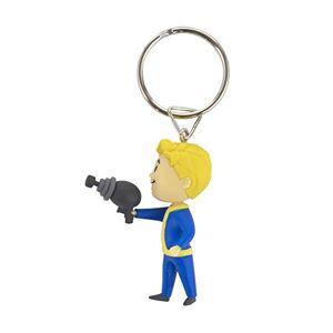 Fallout 76 Vault Boy Energy Weapons - Llavero en 3D