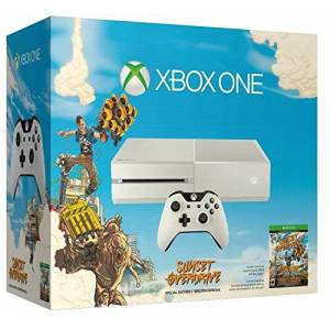 Microsoft Console Xbox One White + Sunset Overdrive + Forza 5: Racing - Game Of The Year Edition (Full Game Download) [Importacin Francesa]
