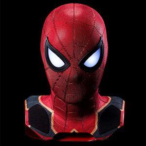 CAMINO Altavoz Bluetooth de Marvel Studios: Spider-Man Head - Escala 1: 1 - Con proyector - Camino