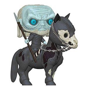 Funko - Pop Rides: Game of Thrones S10: White Walker on Horse Figura Coleccionable, Multicolor, Estndar (37669)