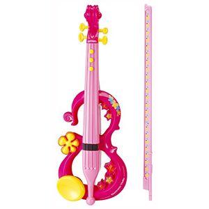 Bontempi - VE 4371 Disney Violn electrnico, Color Rosa (Nomaco