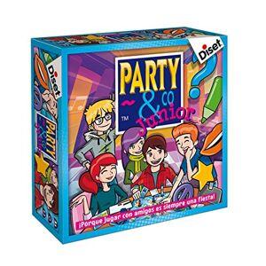 Diset - Juego Party & co Junior, 8+ (10103)