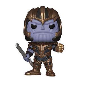 Funko- Pop Bobble: Avengers Endgame: Thanos Marvel Collectible Figure, Multicolor, Estndar (36672)