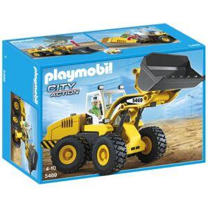 Playmobil Construccin - Cargadora Frontal, Juguete Educativo, 35 x 15 x 25cm, (5469)