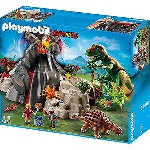 Playmobil - Volcn con Tiranosaurius, Set de Juego (5230)