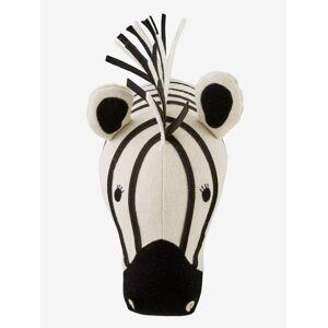 Decoração de parede, Zebra branco claro liso