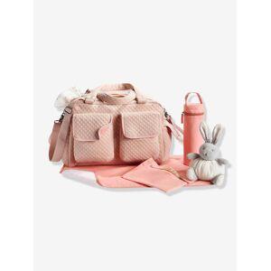 Saco de mudas com vários bolsos Journée da VERTBAUDET rosa claro