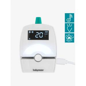 BABYMOOV Intercomunicador Premium Care, da BABYMOOV branco medio liso