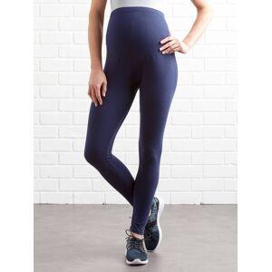 VERTBAUDET Leggings compridos, para grávida azul-escuro