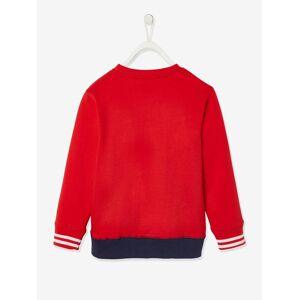 SUPER MARIO Sweat bicolor Super Mario®, para menino vermelho medio liso com motivo