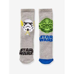 STAR WARS Lote de 2 pares de meias Star Wars® cinzento medio bicolot/multico