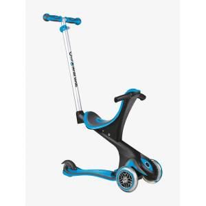 GLOBBER Trotinete 3 rodas EVO COMFORT GLOBBER azul medio liso