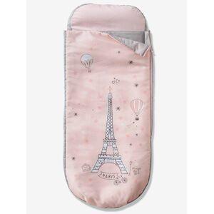 Saco-cama Readybed® com colchão integrado, Paris Mágica rosa medio liso com motivo