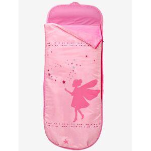 Saco-cama com colchão integrado, tema Fada rosa estampado