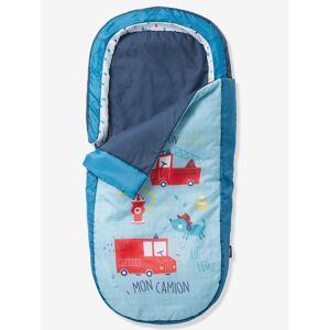Saco-cama Readybed® com colchão integrado, tema Tinoni azul claro liso com motivo